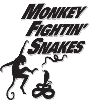 Monkey Fightin' Snakes